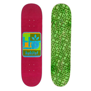 Habitat Skateboards - Mod Pod Deck Red - 7.875
