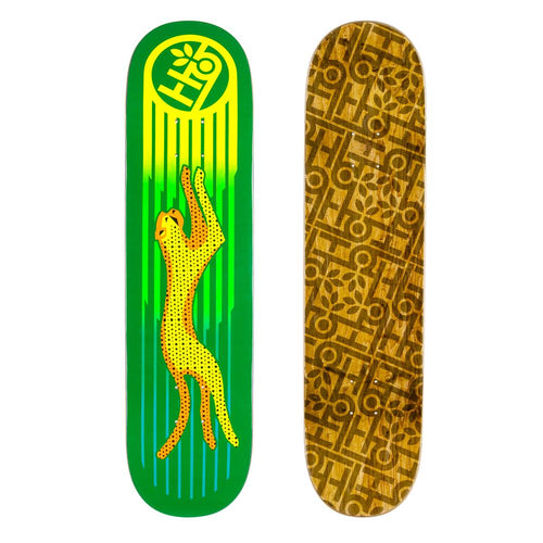 Habitat Skateboards - Neon Cheetah Deck - 8