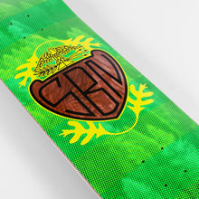"Load image into Gallery viewer, HABITAT SKATEBOARDS - SILAS CREST GREEN DECK - 8.25"", 8.5"" & 8.75"""
