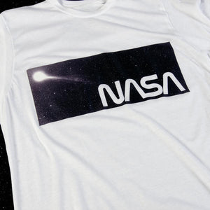 HABITAT SKATEBOARDS - NASA STARDUST TEE - RED