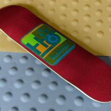 Load image into Gallery viewer, Habitat Skateboards - Mod Pod Deck Red - 7.875""