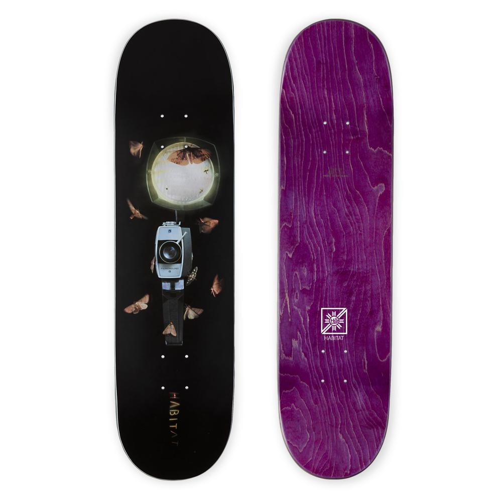 HABITAT SKATEBOARDS - SUPER 8 SLICK DECK - 8.25