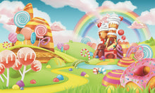 Load image into Gallery viewer, Cup Cake land Wallpaper