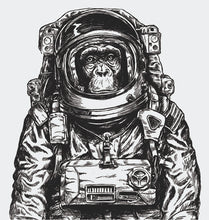 Load image into Gallery viewer, Space monkey Wallpaper