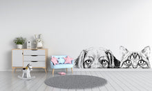 Load image into Gallery viewer, Cat and Dogs Sticker