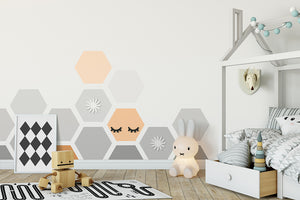 Octagon wall sticker