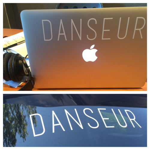 DANSEUR Decal - Cut Vinyl
