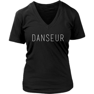 DANSEUR Womens V-Neck