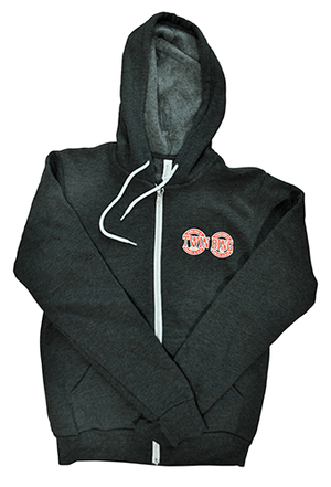Twin Bing Zip-Up Hoodie