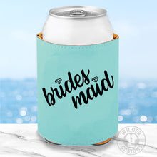 Load image into Gallery viewer, Bridesmaid Leather Koozie