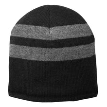 Load image into Gallery viewer, PC Fleece-Lined Striped Beanie C922