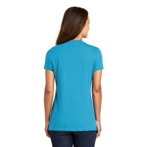 OWSD Ladies V neck - turq