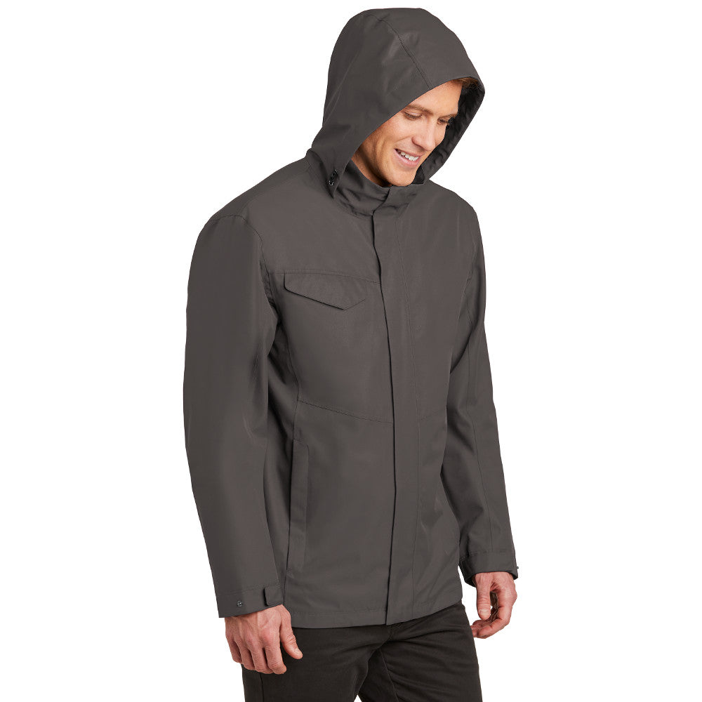 Men's Jacket- Lightweight Hood Rain