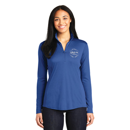 OWSD Quarter Zip - royal