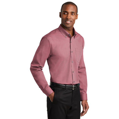 Standard Fit Non-Iron Nailhead Shirt (2 colors) B1