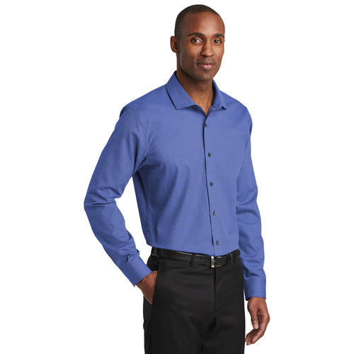 Slim Fit Non-Iron Nailhead Shirt (2 colors) B1