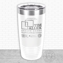Load image into Gallery viewer, Sioux Falls Strong Highball Tumbler White- Tim Allex Realty