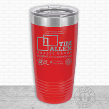 Load image into Gallery viewer, Sioux Falls Strong Highball Tumbler Red- Tim Allex Realty