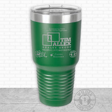 Load image into Gallery viewer, Sioux Falls Strong Bigmouth Tumbler Green- Tim Allex Realty