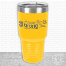 Load image into Gallery viewer, Sioux Falls Strong Bigmouth Tumbler Yellow- Tim Allex Realty