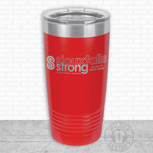 Sioux Falls Strong Highball Tumbler Red- Tim Allex Realty