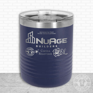 Sioux Falls Strong Lowball Tumbler- Navy NuAge