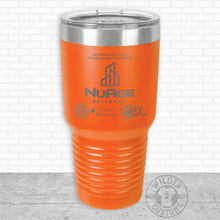 Load image into Gallery viewer, Sioux Falls Strong Bigmouth Tumbler- Orange NuAge