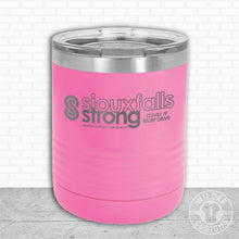 Load image into Gallery viewer, Sioux Falls Strong Lowball Tumbler Pink- Tim Allex Realty