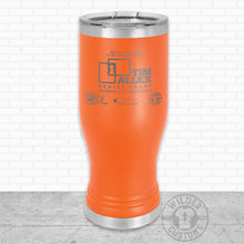 Load image into Gallery viewer, Sioux Falls Strong Pilsner Tumbler Orange- Tim Allex Realty