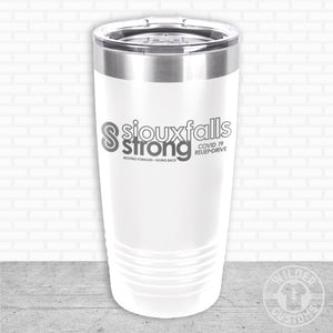Open image in slideshow, Sioux Falls Strong Highball Tumbler White- Legacy Aviation