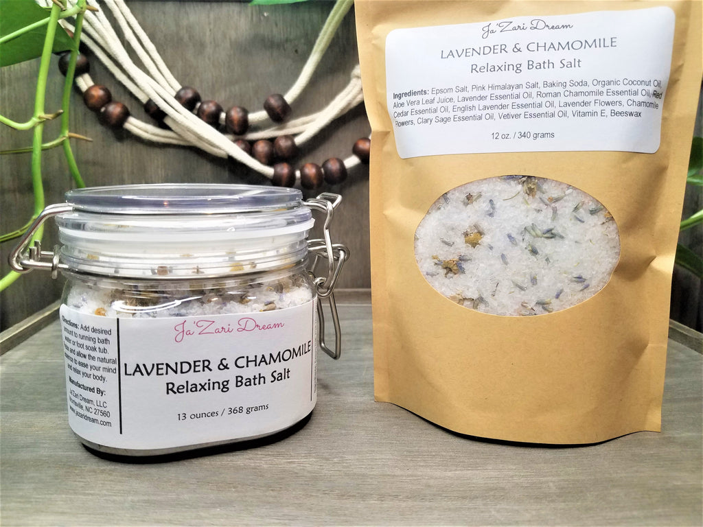 Lavender & Chamomile Relaxing Bath Salt