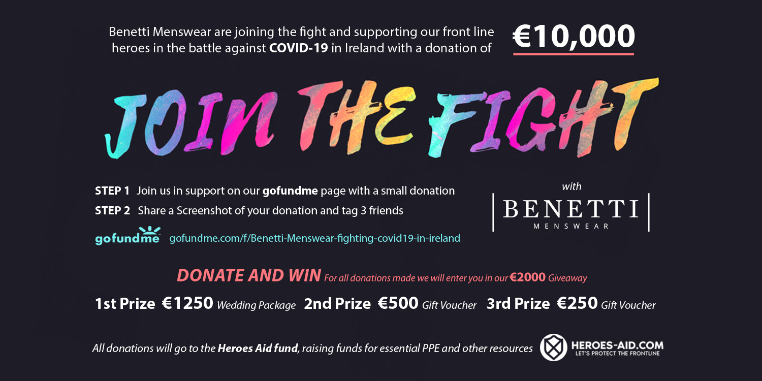 Join The Fight with Benetti Menswear