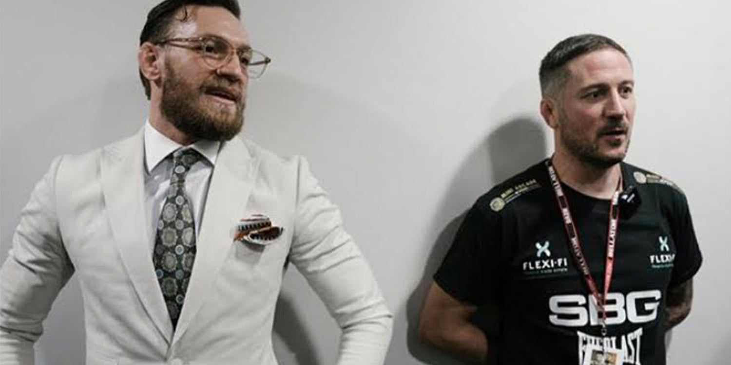 John Kavanagh at Bellator Dublin Sponsored By Benetti Menswear