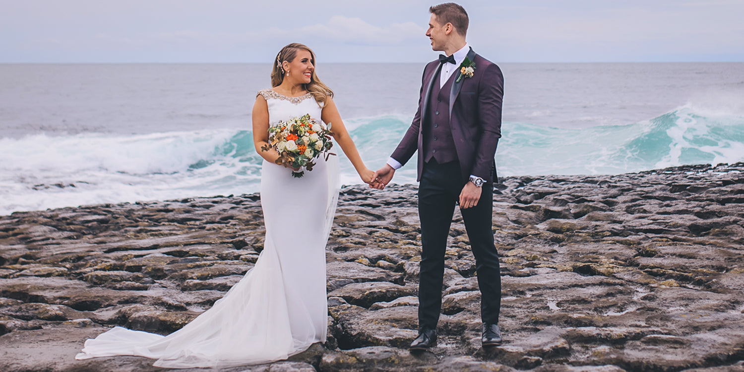 The first images of Aoife and Lee Keegans Wedding
