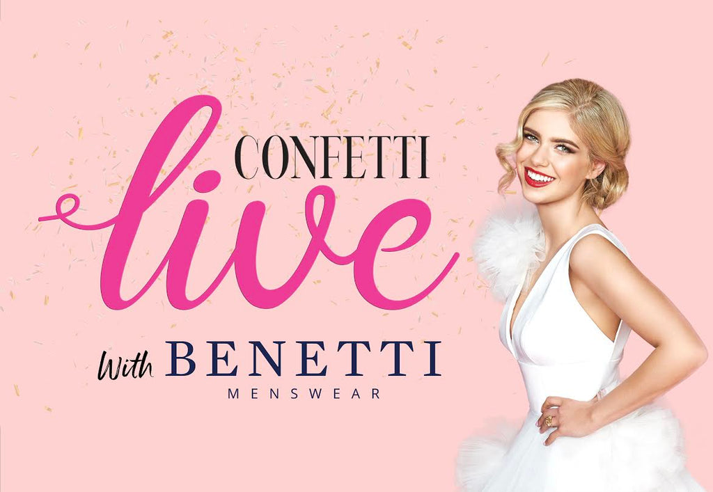 Confetti Live with Benetti Menswear