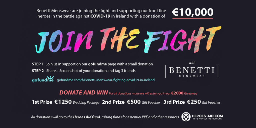 Join the Fight against Covid 19 in Ireland