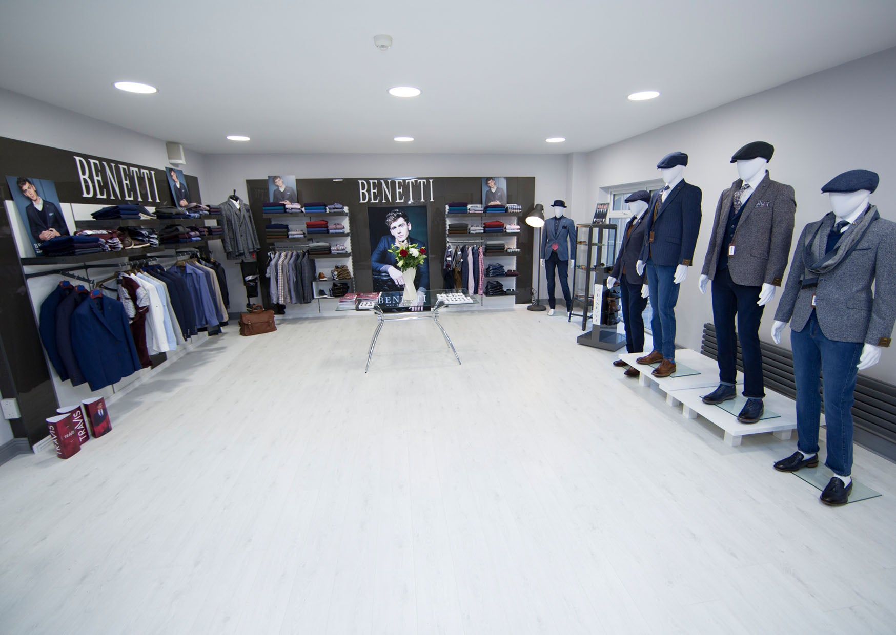 Benetti Menswear, benetti Menswear Ireland, Benetti, Menswear, Ireland, Suits, Showroom