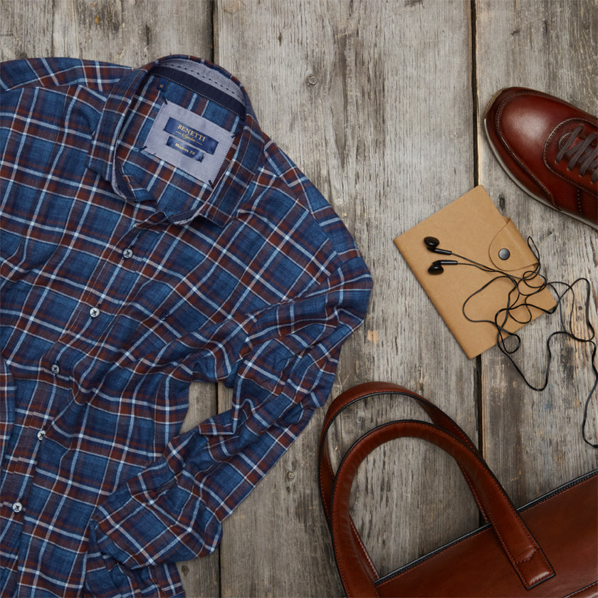 Benetti Menswear Autumn Winter Styled Outfit