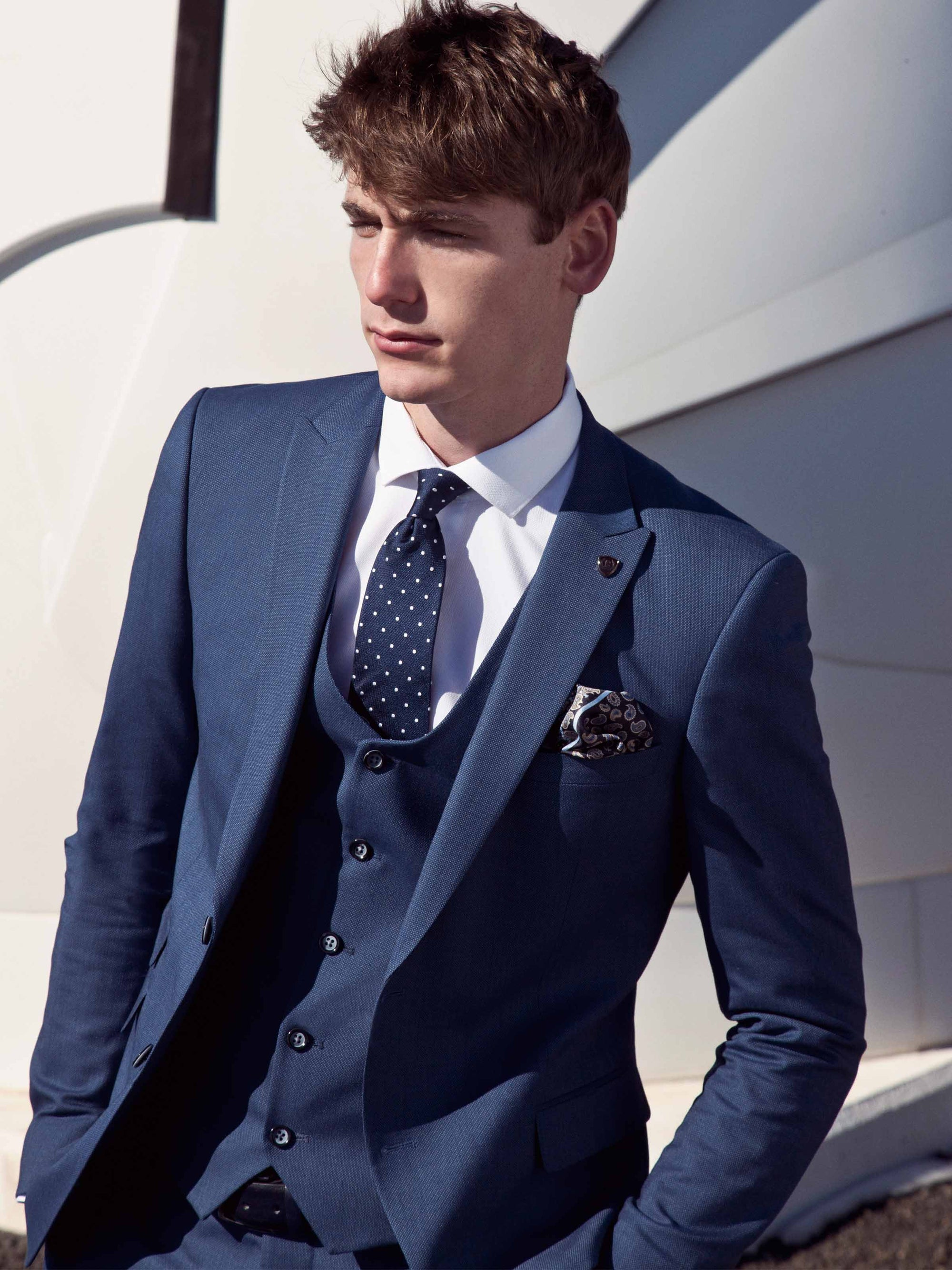 Lennon Navy Suit By Benetti