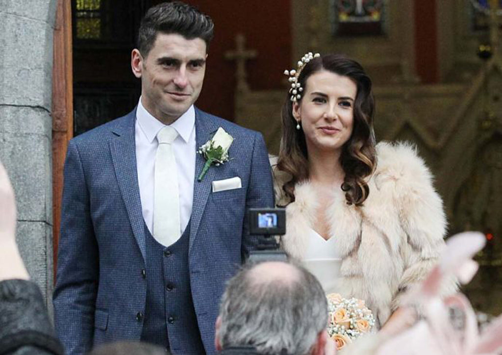 Bernard Brogan Marries Keira Doyle