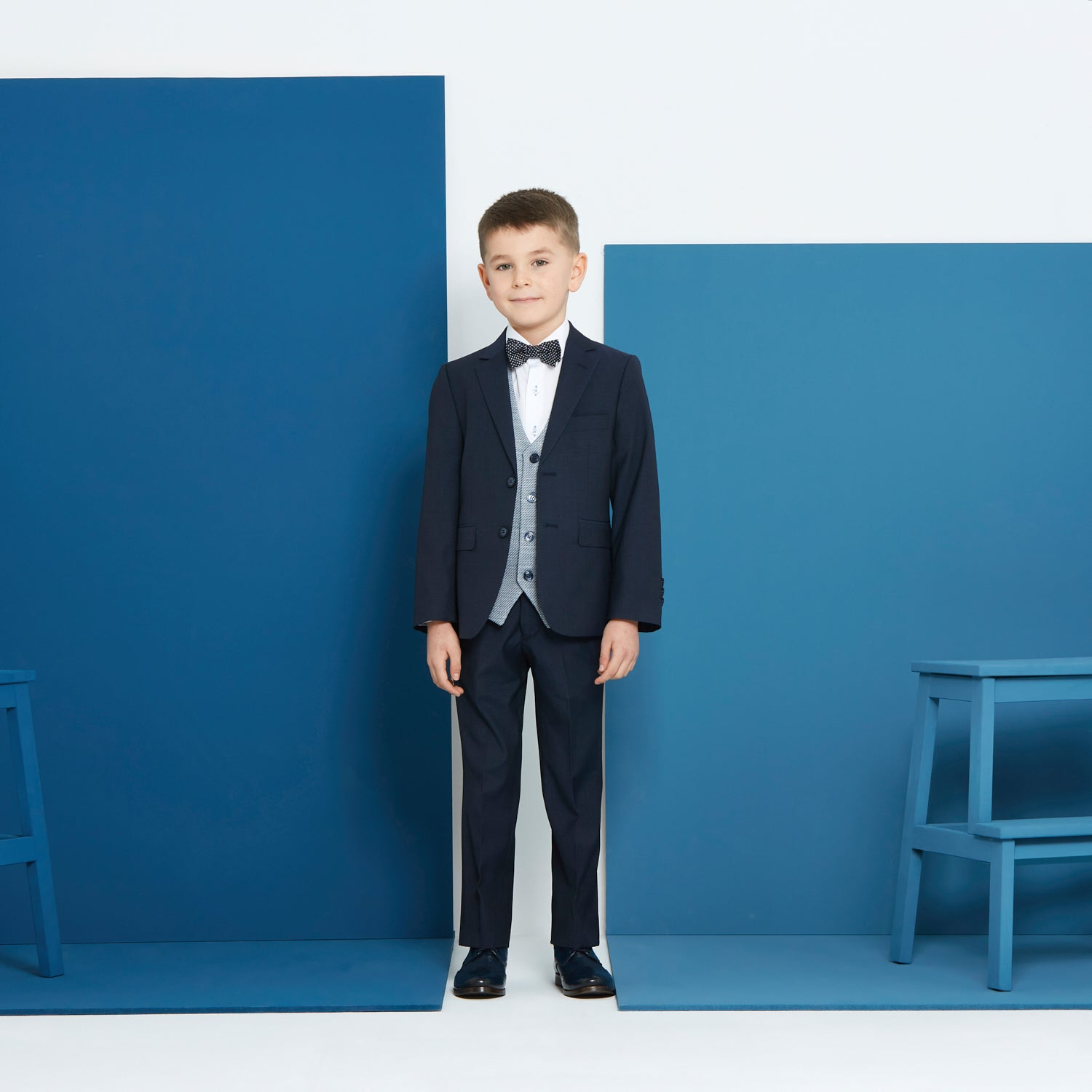 Benetti Cusack Navy Boys Suit