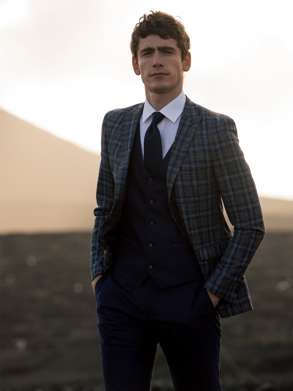 Darcy Check 3 Piece Suit