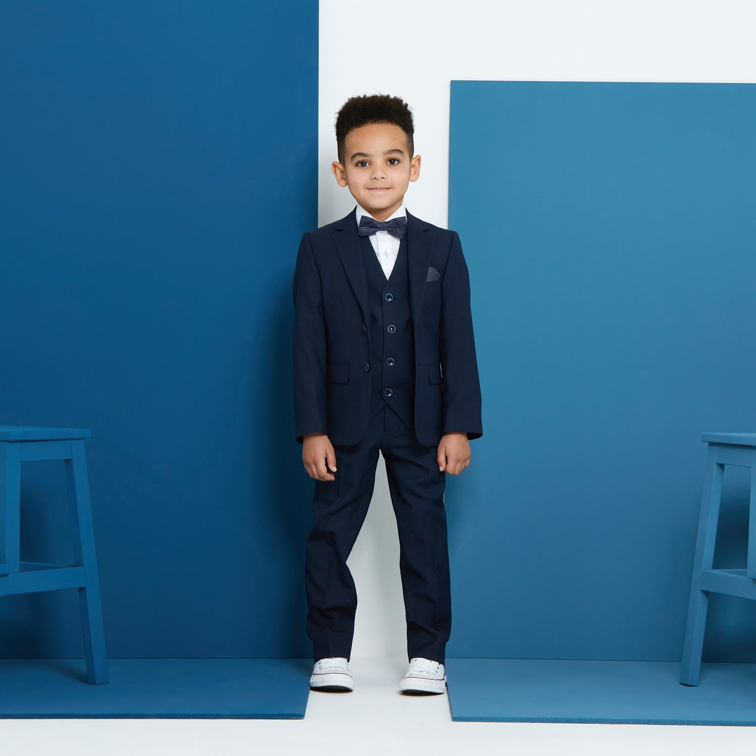 Benetti Boys James Navy Suit