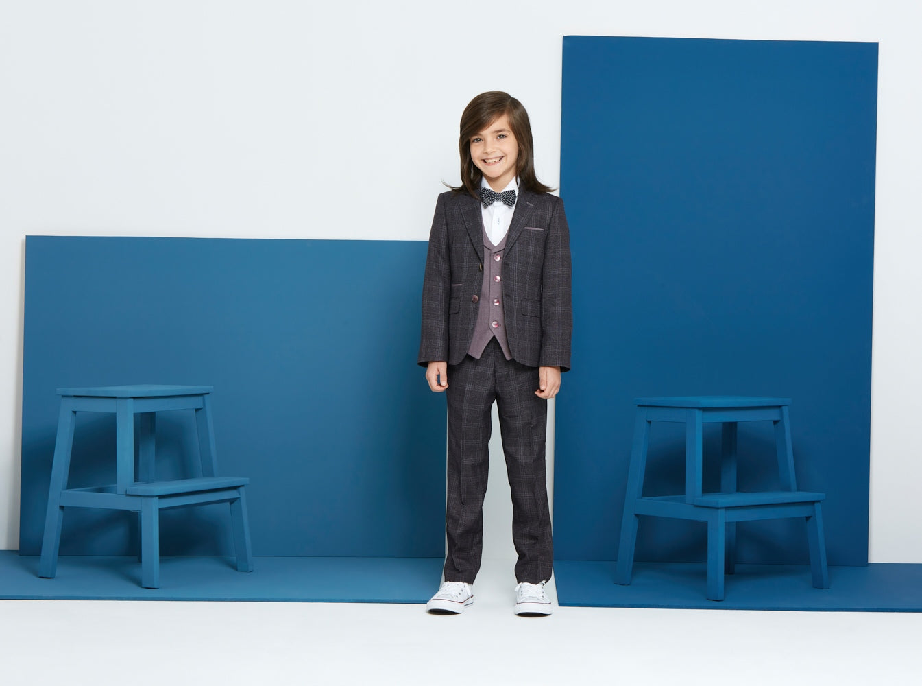 Joey Burgundy Boys Suit