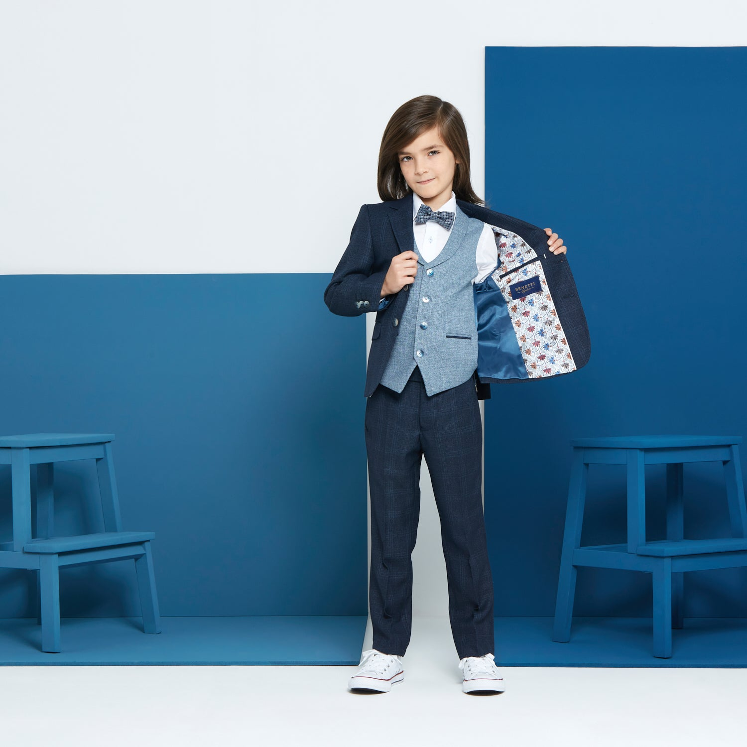 Joey Navy Blue Boyswear Suit
