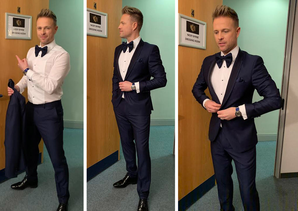 Nicky Byrne wears Benetti Menswear in Dancing With The Stars