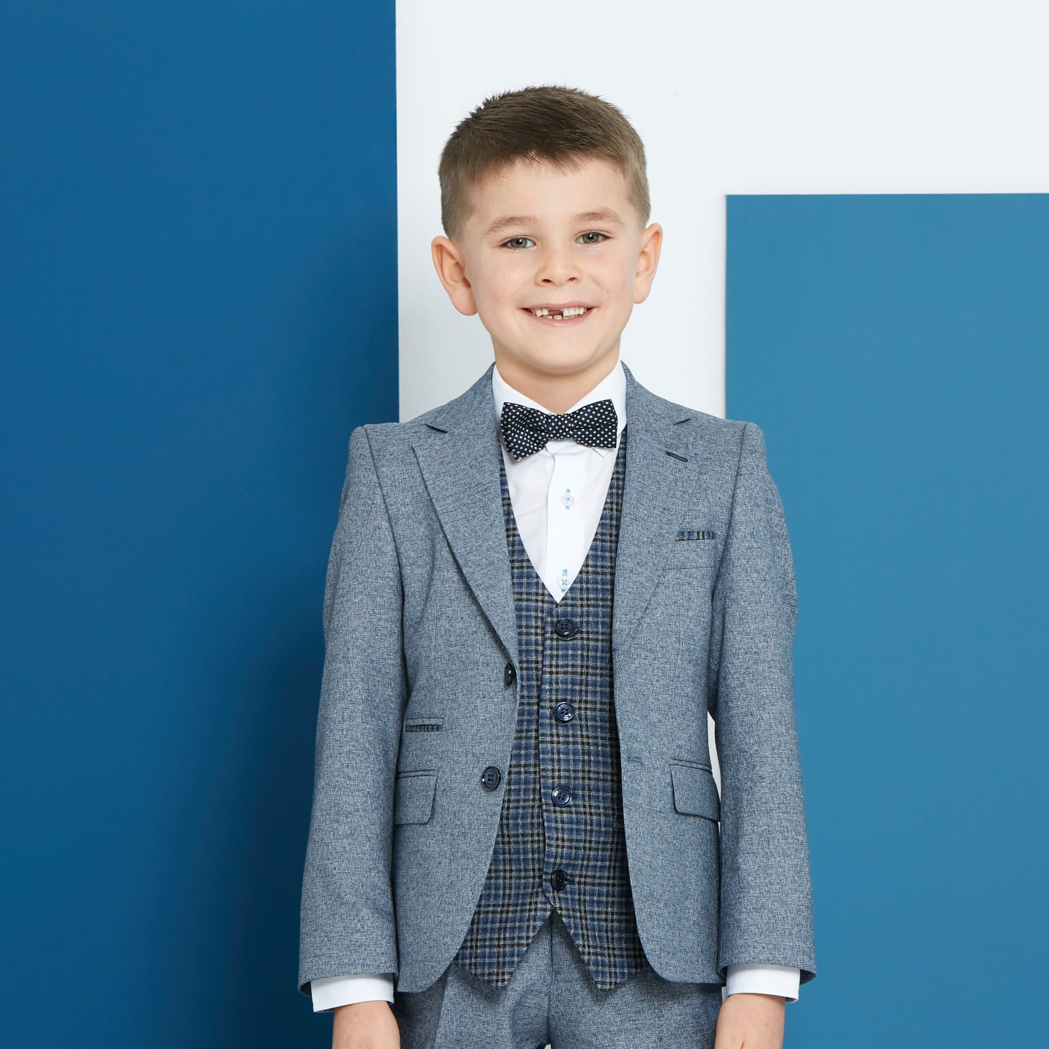 Pascal Smoke Benetti Boys Suit