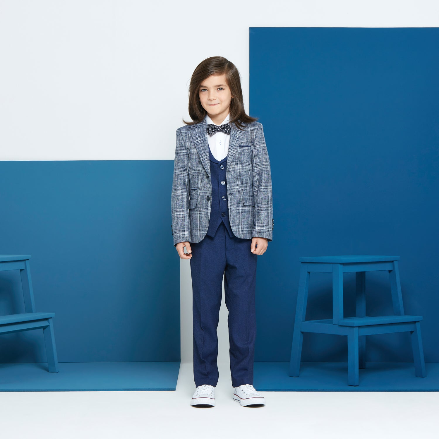 Boys Pio 3 Piece Benetti Suit