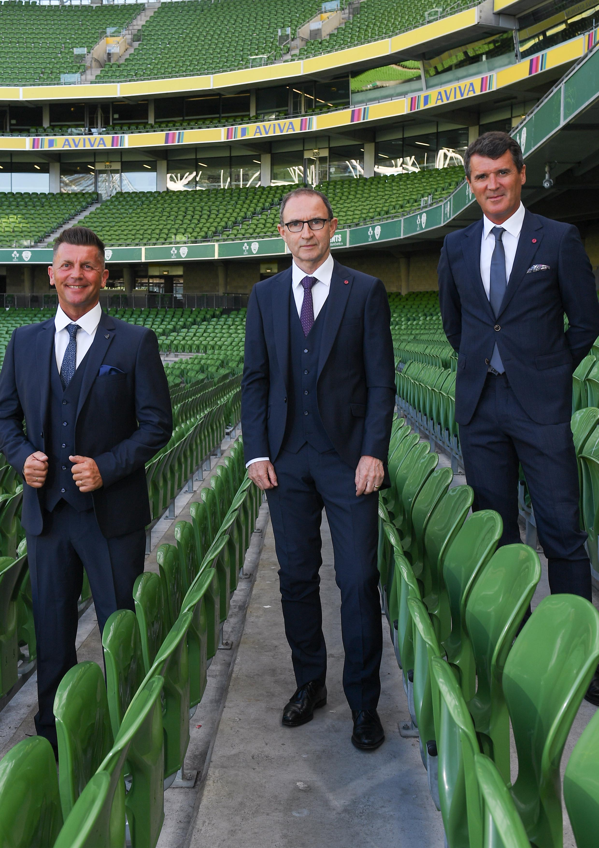 Roy Keane, Benetti Menswear, Benetti Suit, Official Tailor to FAI, Benetti Suit, Ireland