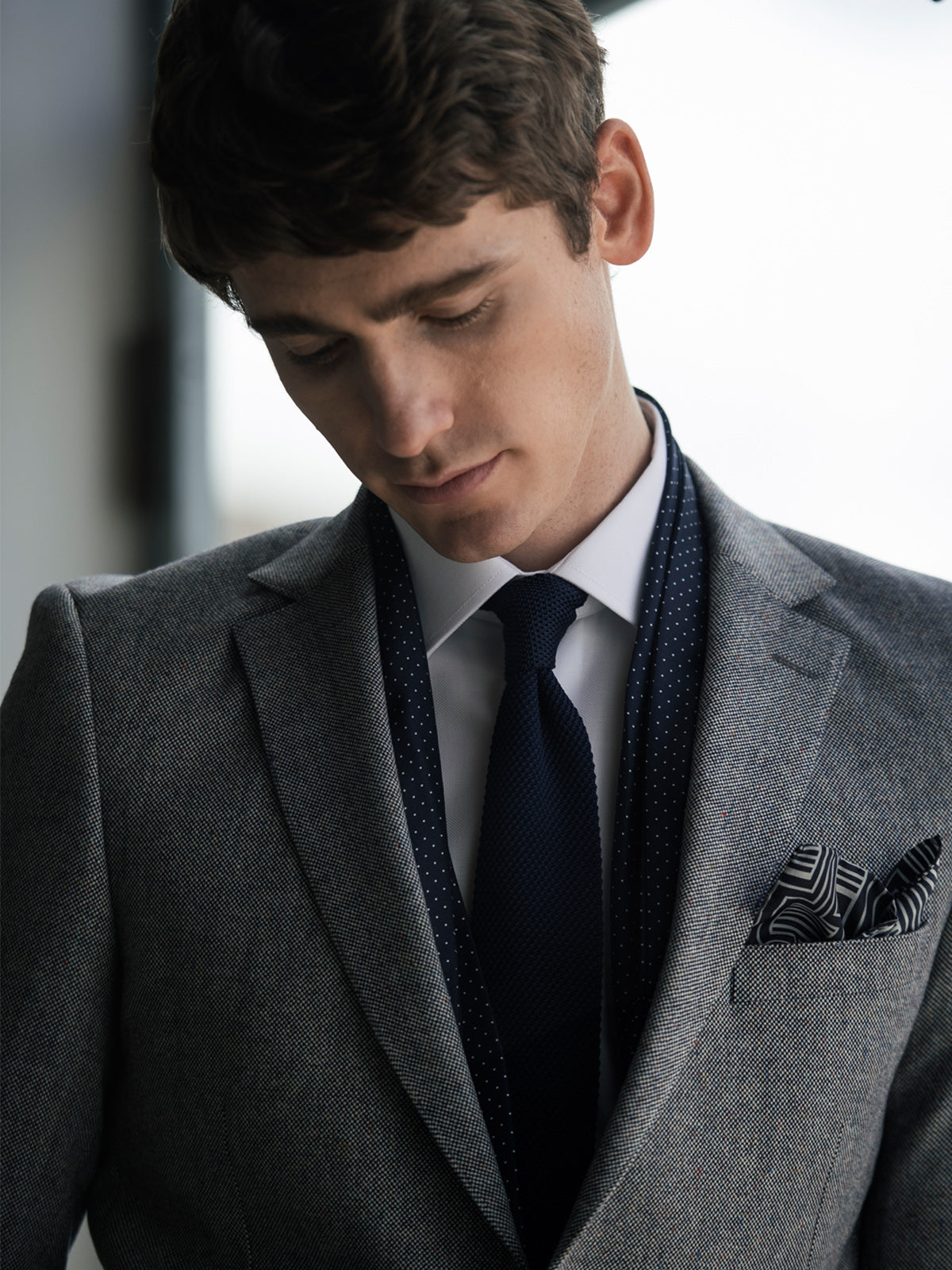 Stan Grey Blazer By Benetti Menswear